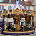 Location de stand manège forain carrousel Victor Hugo