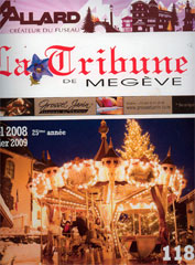 Location Carrousel Bailly-Cochet article Tribune de Megève