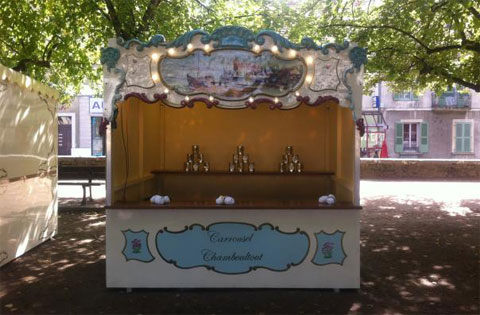 Location Stand Manège Forain Roulotte Bailly-Cochet : le Carrousel Chamboultout